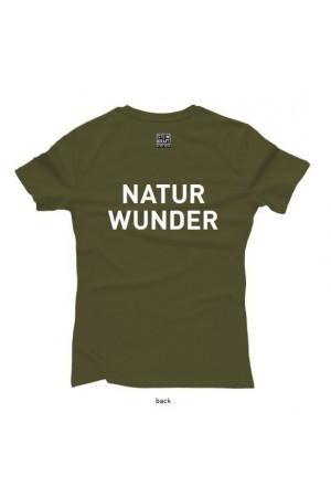 Naturwunder T-Shirt STEINKRAFT Natur-Zeolith, Damen Rückseite