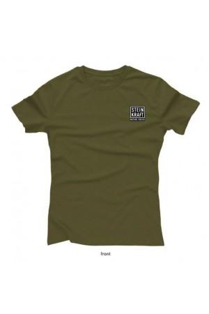 Naturwunder T-Shirt STEINKRAFT Natur-Zeolith, Damen vorne