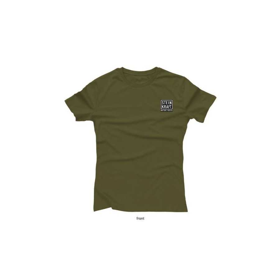 Aus einem guten Stall T-Shirt STEINKRAFT Natur-Zeolith, Damen vorne