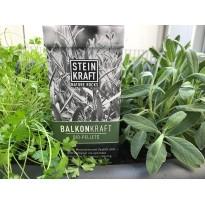 Balkonkraft Pellets mit Kompost für Homegardening Zeolith Pflanzen Kräuter