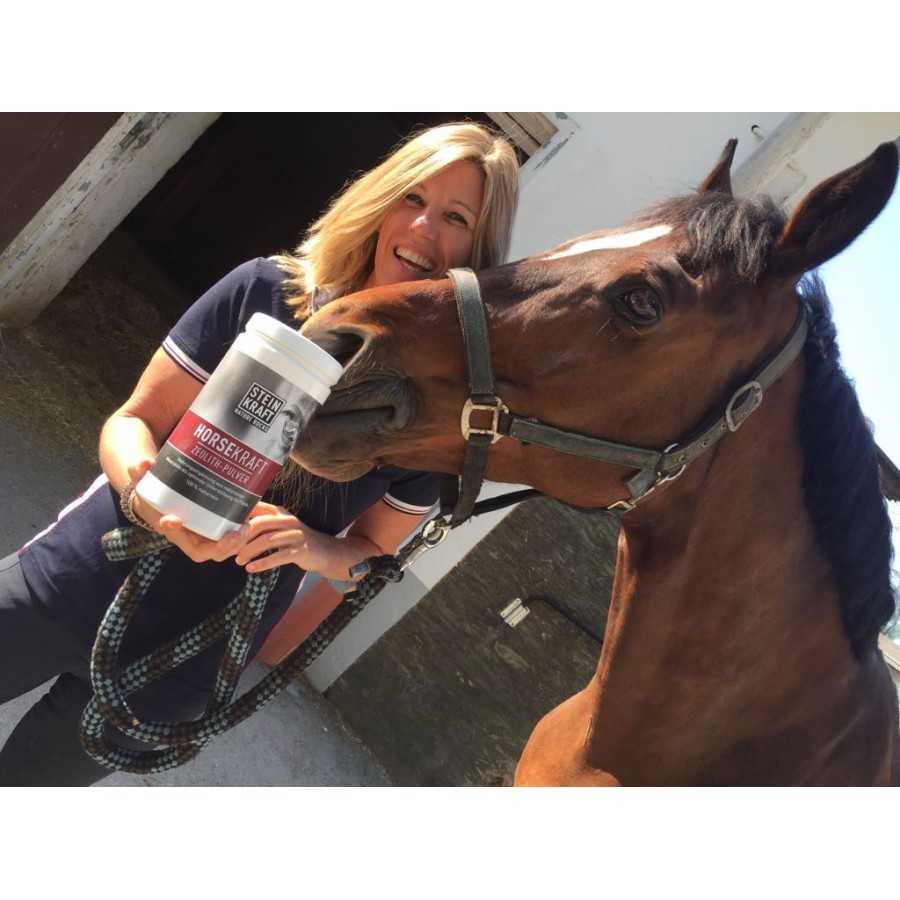 STEINKRAFT Zeolith für Pferde machen schönes Fell
