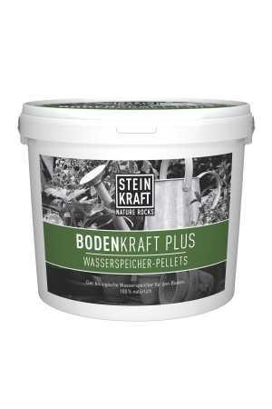 BODENKRAFT PLUS Wasserspeicher Pellets mit Steinkraft Zeolith Kübel