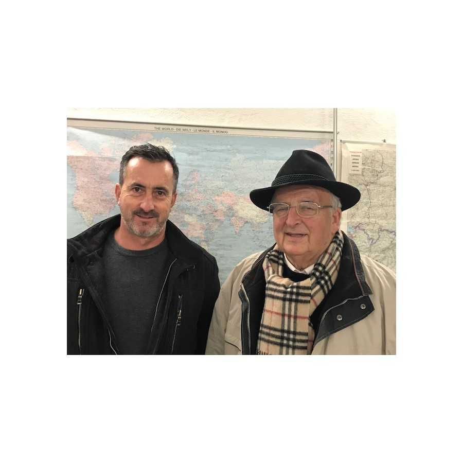 Rohstoff-Experten im Gespräch K. Stockinger und H. Schirmbrand