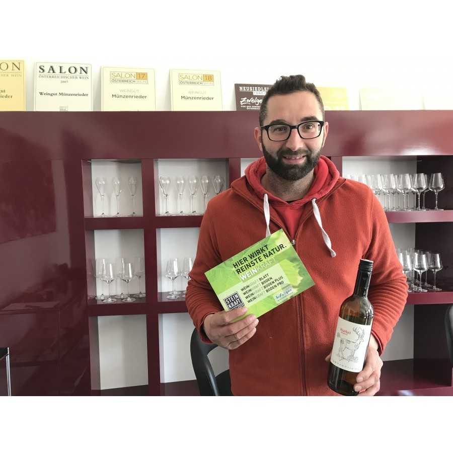 Weingut Münzenrieder verwendet STEINKRAFT-Zeolith