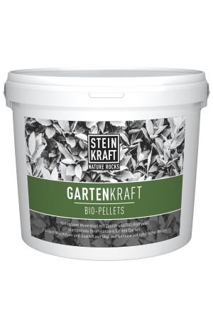 GARDENKRAFT Bio Pellets Natur-Zeolith Kübel 6kg - Boden, Garten