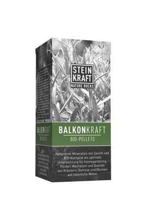 BALKONKRAFT Bio Pellets 10% Natur-Zeolith Schachtel 1kg