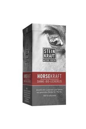 HORSEKRAFT Danke Bio Leckerlis mit 10% Natur-Zeolith, Schachtel 650g